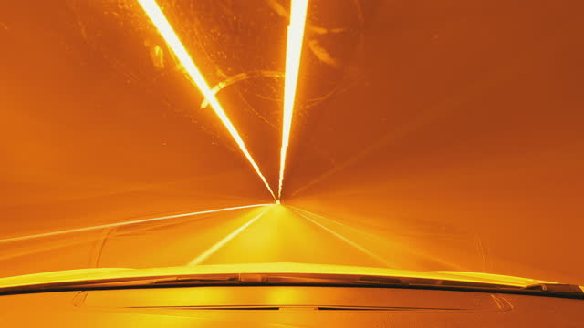 stockvideo's en b-roll-footage met pov auto rijden - blurred motion