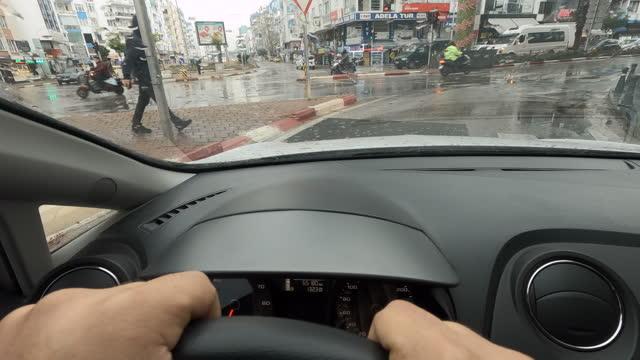 vídeos de stock, filmes e b-roll de condução de carro - time lapse de trânsito