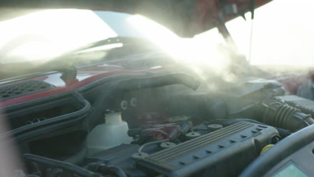 Car Engine Overheating Handheld