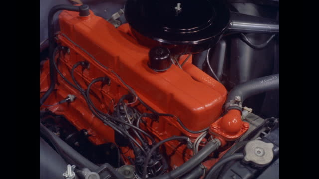 cu ha car engine / united states - automobile industry stock videos & royalty-free footage