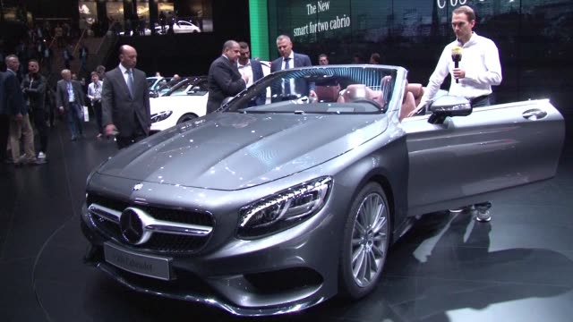 car enthusiasts and professionals are headed to frankfurt this week to the iaa auto show as the industry emerges out of long crisis in europe but... - tradeshow stock videos & royalty-free footage