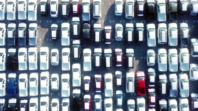 vídeos y material grabado en eventos de stock de coche para la exportación - inmóvil