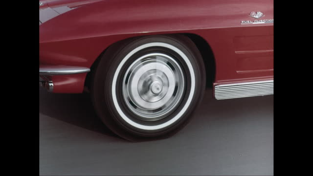 cu ts car front wheel moving on road / united states - tyre stock videos & royalty-free footage