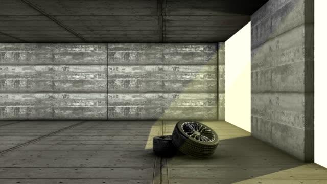 Bil garage