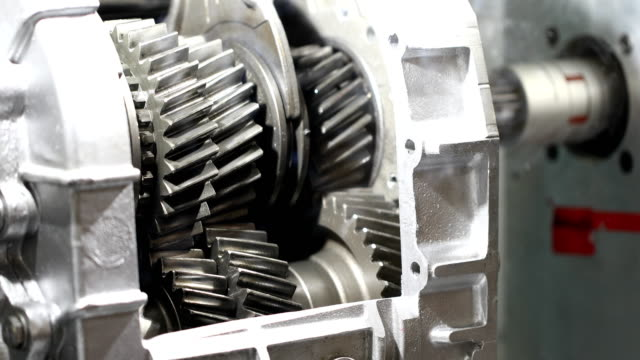 car gearbox - motore video stock e b–roll