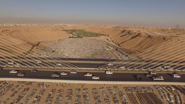 car graveyard, riyadh, saudi arabia - riyadh stock videos & royalty-free footage