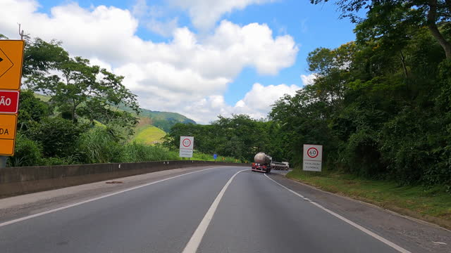 car highway point of view - road sign stock videos & royalty-free footage