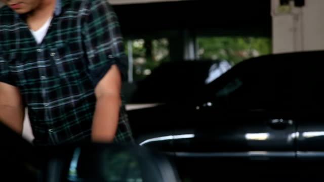 car hood - bonnet stock videos and b-roll footage