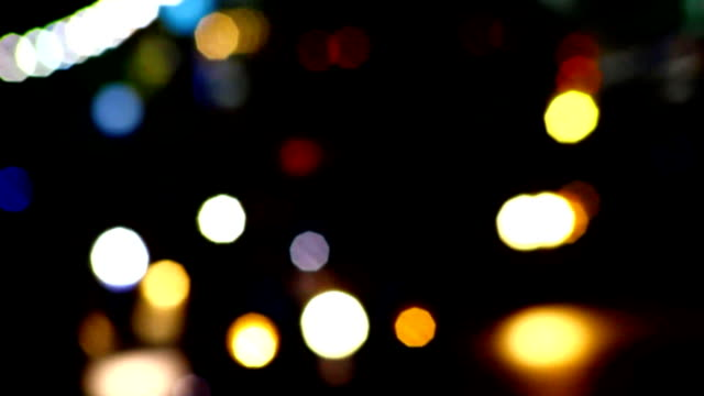 car light out of focus - spotted stock videos & royalty-free footage