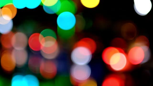 車のライト - 焦点点の映像素材/bロール