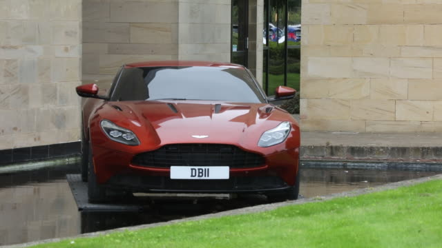 car manufacturing at aston martinƒs gaydon hq in gaydon england united kingdom on tuesday september 4 2018 - personal land vehicle stock videos & royalty-free footage