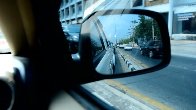 car mirror - full hd format stock videos & royalty-free footage