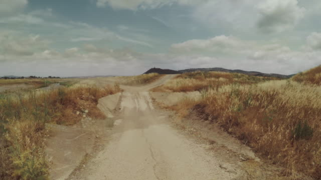 pov car offroad driving in tuscany, italy - off road racing stock videos & royalty-free footage
