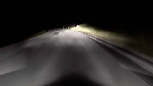 car pov: on an austrian mountain road at night - traditionally austrian stock videos & royalty-free footage