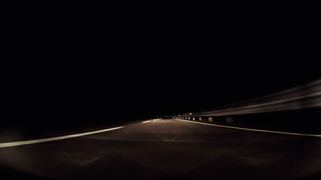 Car Onboard Camera at Night