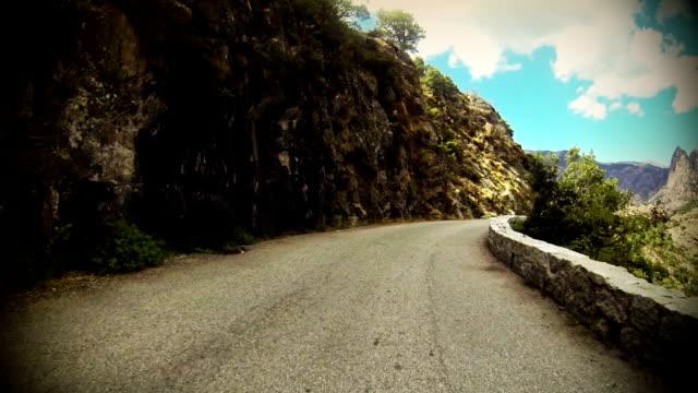 Auto-Onboard-Kamera: Die Straßen von Korsika