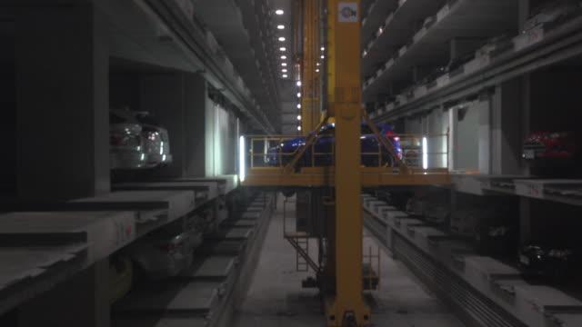 car park building - multi storey stock videos & royalty-free footage