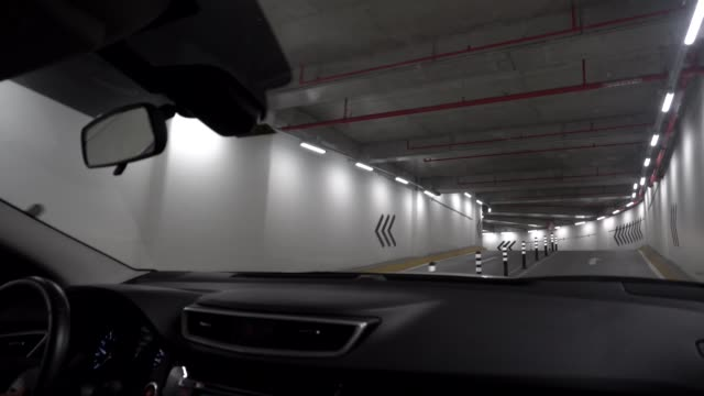 car parking - exit sign stock videos & royalty-free footage