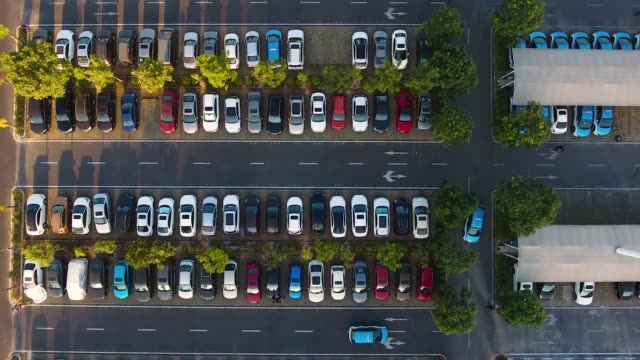 car parking - parking stock videos & royalty-free footage