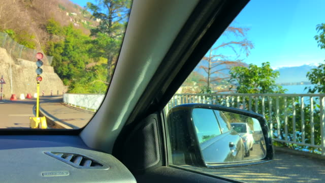 car point of view and waiting for traffic light - viewpoint stock videos & royalty-free footage
