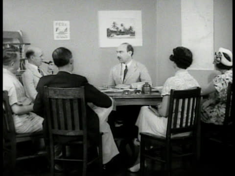 car pulling modern trailer through frame cu fera sign reprising conversation julius f stone jr in office sot talking w/ aides saying going to take a... - 1937 stock videos and b-roll footage
