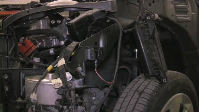 car repairing. auto repair shop. automobile service. - mechanic stock videos & royalty-free footage