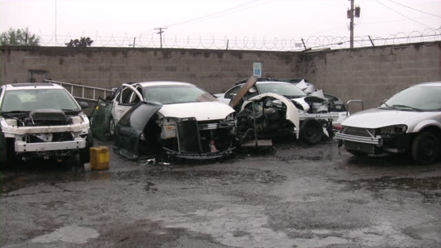 car repairing. auto repair shop. automobile service. - deterioration stock videos & royalty-free footage