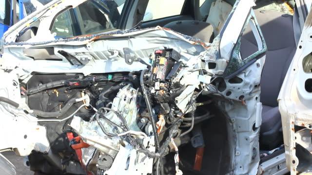 car repairing. auto repair shop. junkyard. - automobile industry stock videos & royalty-free footage