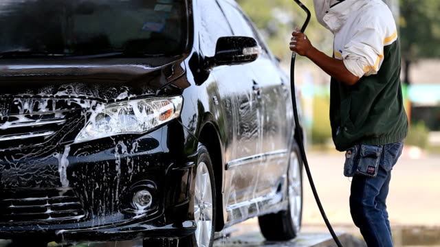car service - car wash - biltvätt bildbanksvideor och videomaterial från bakom kulisserna