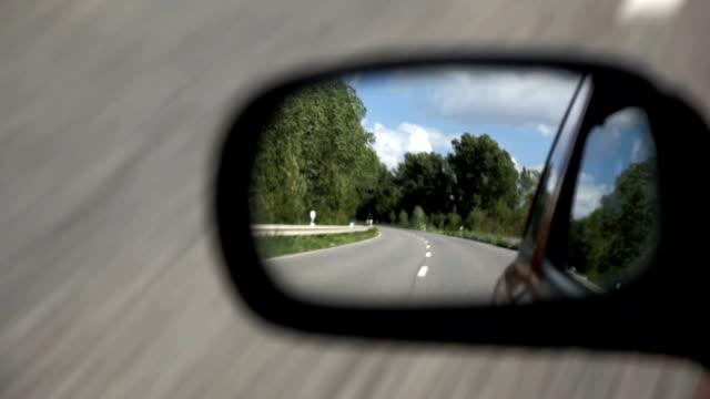 vídeos y material grabado en eventos de stock de de espejo lateral - retrovisor exterior