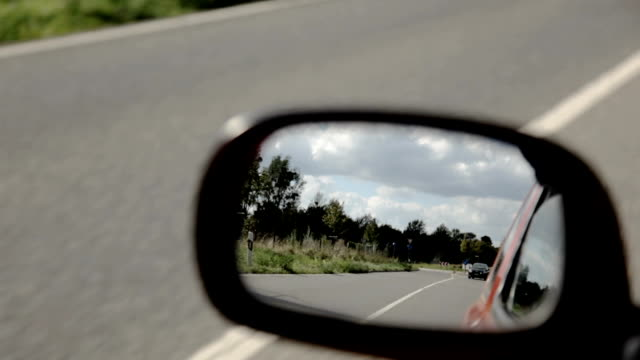 car side mirror - wing mirror stock videos & royalty-free footage