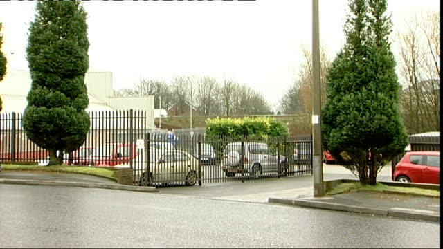 greater manchester bolton ext garage and roadside - bolton greater manchester stock videos and b-roll footage
