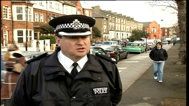 metropolitan police operation detective superintendent stephen cassidy interview sot quite open about tactics used want to put the fear of crime onto... - 警視庁点の映像素材/bロール