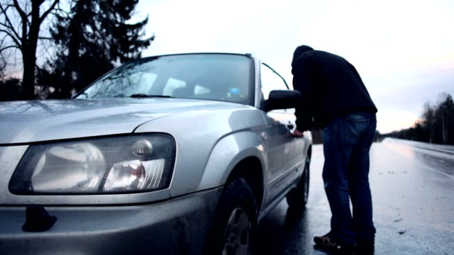 car theft - burglar stock videos & royalty-free footage