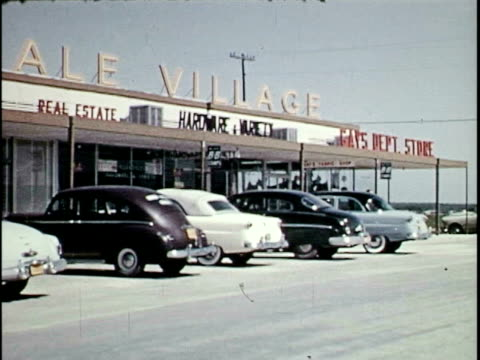 car thieves steal cars from a shopping center - 1953 stock videos and b-roll footage