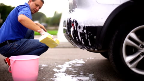 car wash. - sports utility vehicle stock videos & royalty-free footage