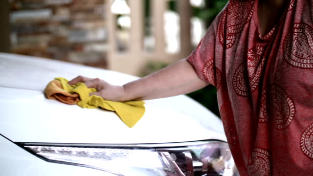 car wash - dishcloth stock videos & royalty-free footage