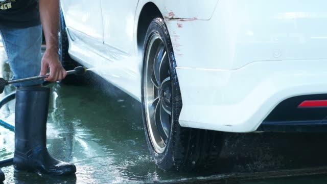 car wash - lavare video stock e b–roll