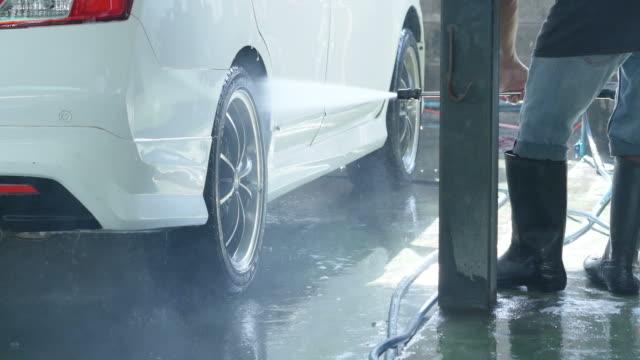 stockvideo's en b-roll-footage met autowassen - soap sud