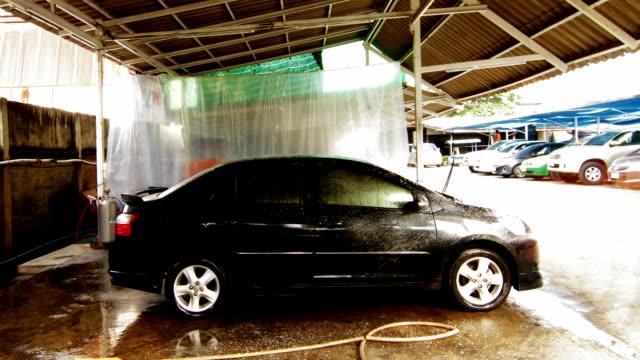 car washing service - car wash stock videos & royalty-free footage