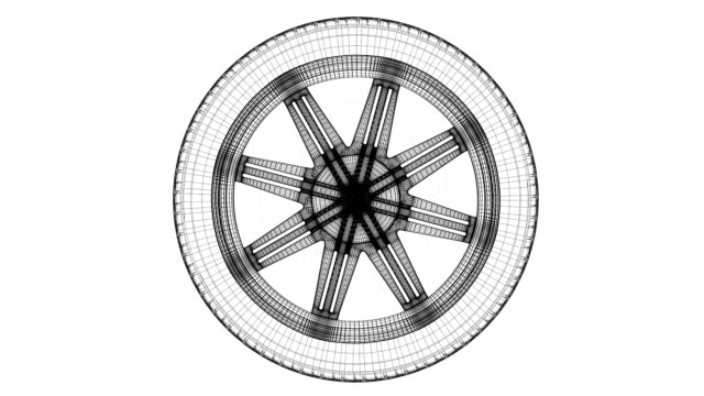 car wheel - wheel stock videos & royalty-free footage