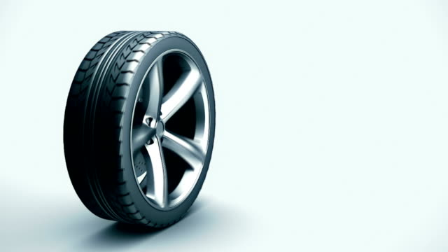 car wheel - tyre stock videos & royalty-free footage