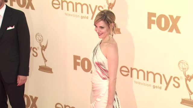 cara buono at the 63rd primetime emmy awards arrivals part 1 at los angeles ca - 63rd annual primetime emmy awards stock videos and b-roll footage