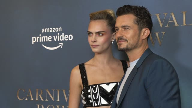 cara delevigne orlando bloom at ham yard hotel on august 28 2019 in london england - orlando bloom stock videos & royalty-free footage