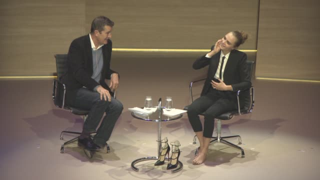 stockvideo's en b-roll-footage met interview cara delevingne on making the transition in to acting always having a passion for acting how other actors treated her at cara delevingne... - rupert everett