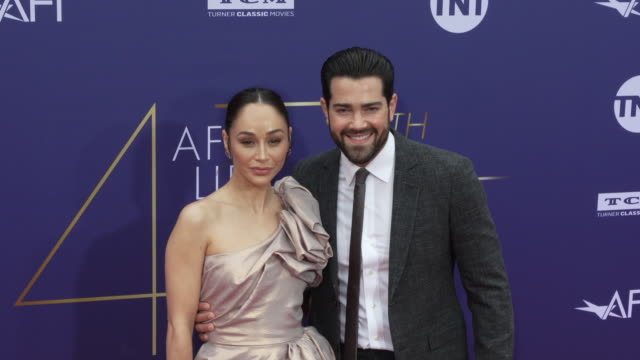 cara santana and jesse metcalfe at the 2019 afi life achievement award gala honoring denzel washington at dolby theatre on june 06, 2019 in... - the dolby theatre stock videos & royalty-free footage