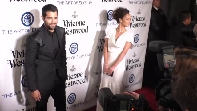 Cara Santana and Jesse Metcalfe at The Art of Elysium's 9th Annual HEAVEN Gala at 3LABS in Culver City at Celebrity Sightings in Los Angeles on...