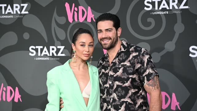 cara santana jesse metcalfe at the la premiere of starz' vida arrivals at regal downtown theater on may 20 2019 in los angeles california - vida no mar stock videos & royalty-free footage
