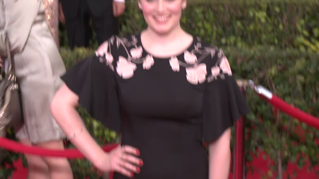 cara theobold at 20th annual screen actors guild awards arrivals at the shrine auditorium on in los angeles california - shrine auditorium video stock e b–roll