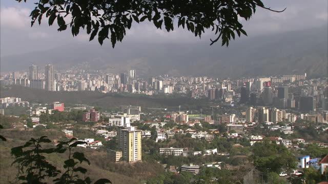 WS HA ZI Caracas high rises in valley / Metropolitan District of Caracas, Miranda, Venezuela